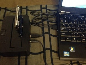 ThinkPadX220をHDDからSSDにした後のデータ移行方法