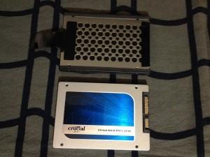 ThinkPadX220に換装したCrucial CT256MX100SSD1レビュー