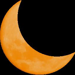 んー今日(2014年9月28日)オレンジの月が気持ち悪い、近いうちに地震来るのかな。。。