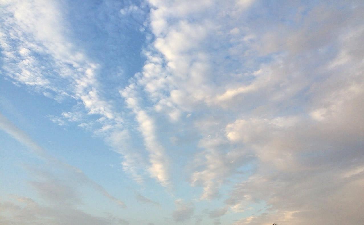 2015-09-13地震雲?気持ち悪い雲だ (2)