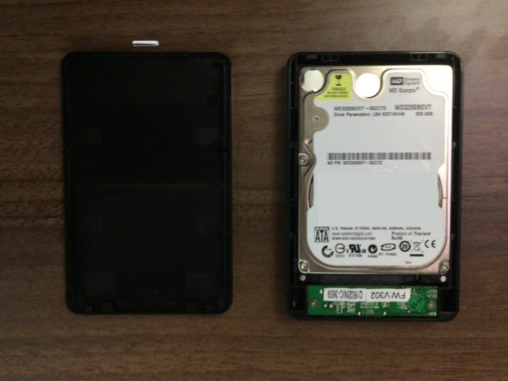玄人志向HDDケースはコスパ最強!余った2.5HDDを再利用する方法とは