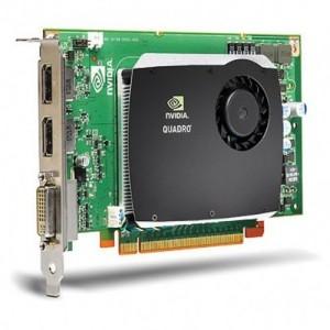 nVIDIA Quadro FX580 PCI-E 2-Ports DVI Graphics
