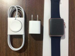 男性が買った!AppleWatchSeries2ローズゴールドの開封から初期設定 (1)