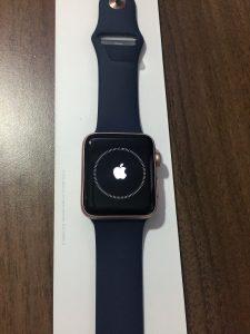 男性が買った!AppleWatchSeries2ローズゴールドの開封から初期設定開始! (13)