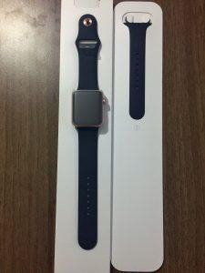 男性が買った!AppleWatchSeries2ローズゴールドの開封から初期設定 (8)