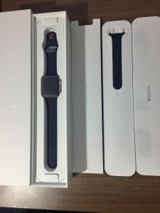 男性が買った!AppleWatchSeries2ローズゴールドの開封から初期設定 (5)