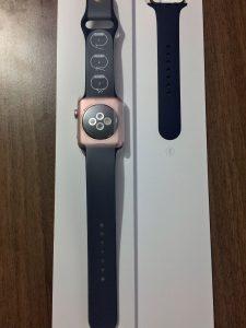 男性が買った!AppleWatchSeries2ローズゴールドの開封から初期設定 (10)
